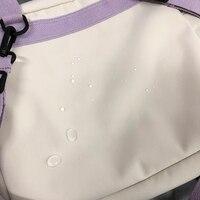 Сумка-рюкзак со значками и брелоком #4