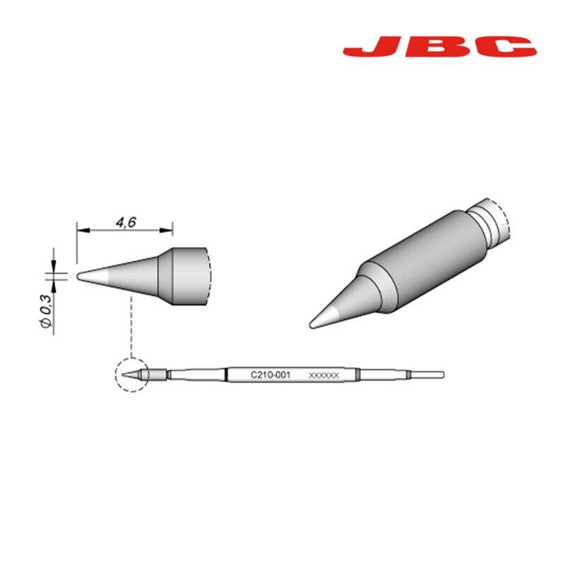 Pontas de Ferro de Solda Especializado para Jbc Lidar com C210 Adaptador Substituível Series C210-018 C210-002 C210013 C210009 T210-a C210-020