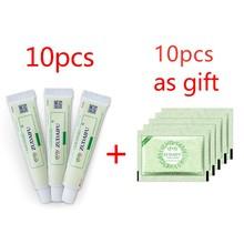 10pcs Dropshipping Zudaifu Skin Psoriasis Dermatitis Eczematoid Eczema Ointment Treatment Psoriasis Cream Skin Care Cream