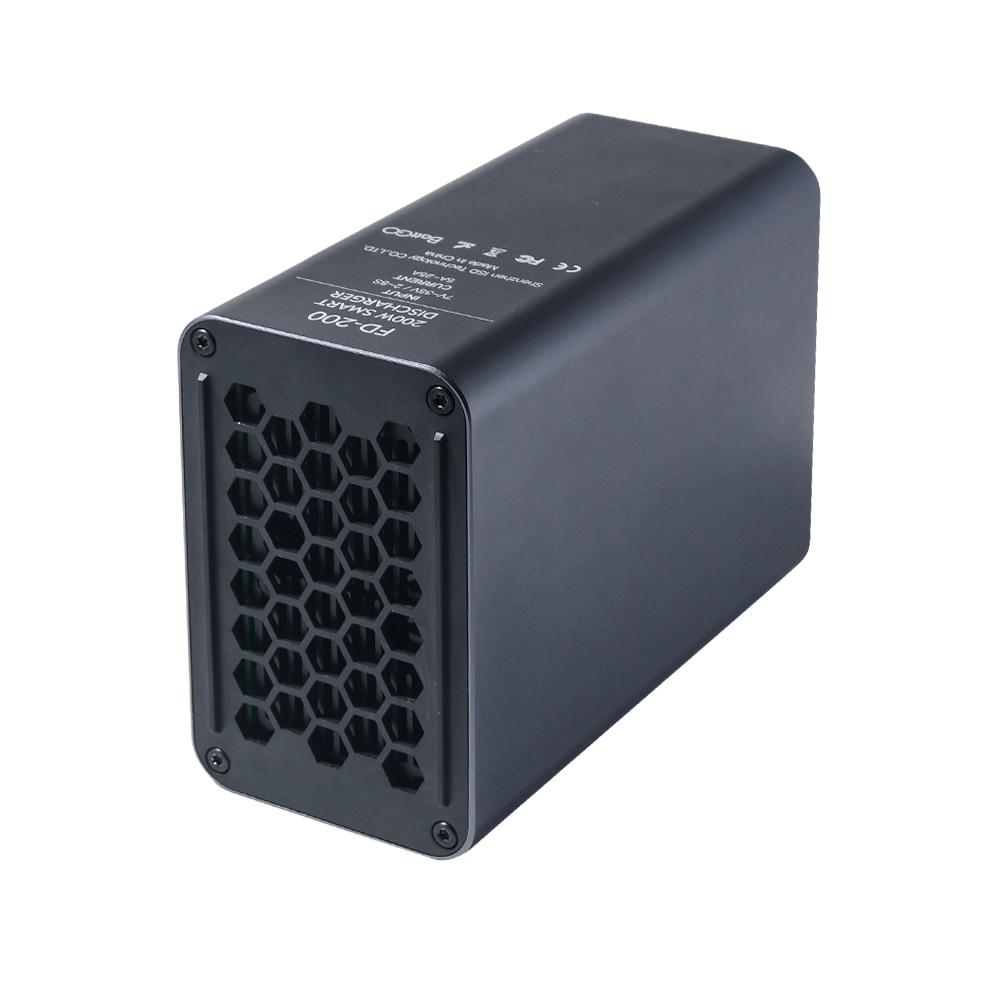 ISDT FD200 200W  Smart  External Discharge Port  Smart  Discharger Fit 2s-8s Battery Current 5A 10A 15A 20A 25A enlarge