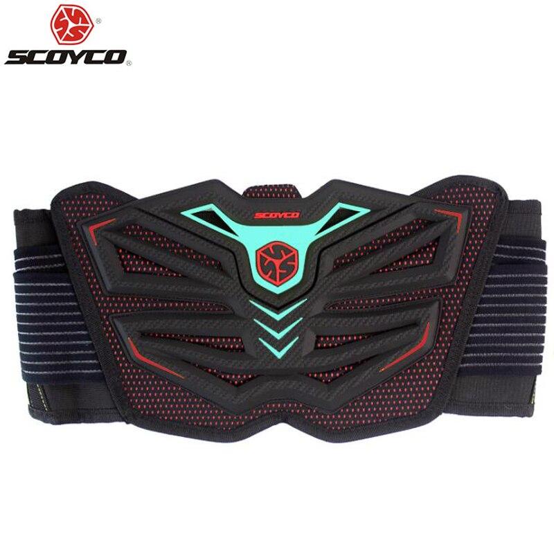 Scoyco motocicleta protetor de cintura cinta motocross fora da estrada corrida cinto segurança estrada protetor cinto rim engrenagem esportes vermelho u11