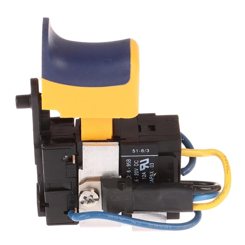 Переключатель дрели с литиевой батареей 12 В, перезаряжаемые Ручные Электрические пистолеты для дрели G99A