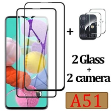 Protective Glass for Samsung A51 Screen Protector Glass For Samsung Galaxy A51 Camera Lens Film On S