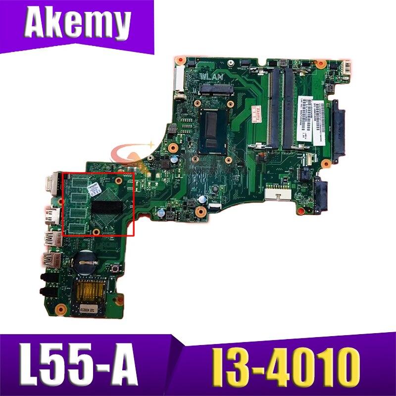 SPS V000318210 ل toshiba satellite L55 L55-A اللوحة المحمول CR10ST-6050A2556501-MB-A02 SR16Q I3-4010