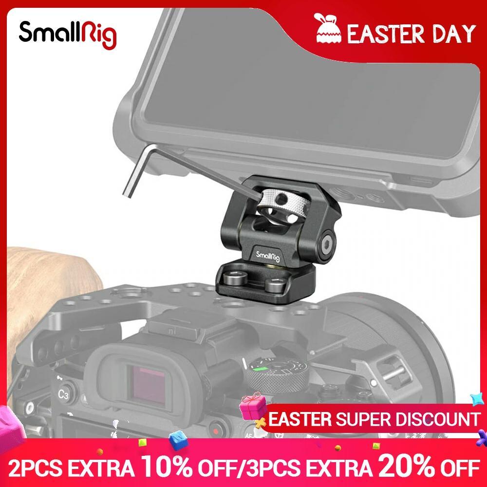 SmallRig-Soporte de pantalla de Monitor giratorio y de inclinación ajustable, montaje con...