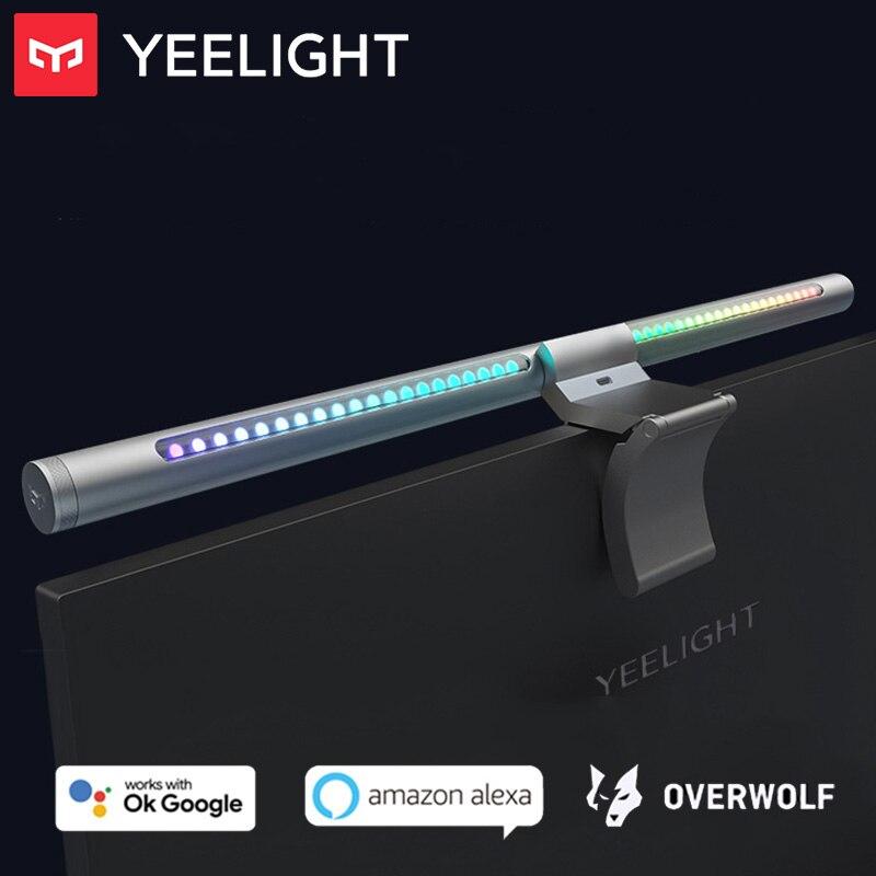 Yeelight عكس الضوء شاشة LED معلقة ضوء بار برو حماية العين الكمبيوتر شاشة عرض ألعاب مصباح RGB جو الجدول مصباح