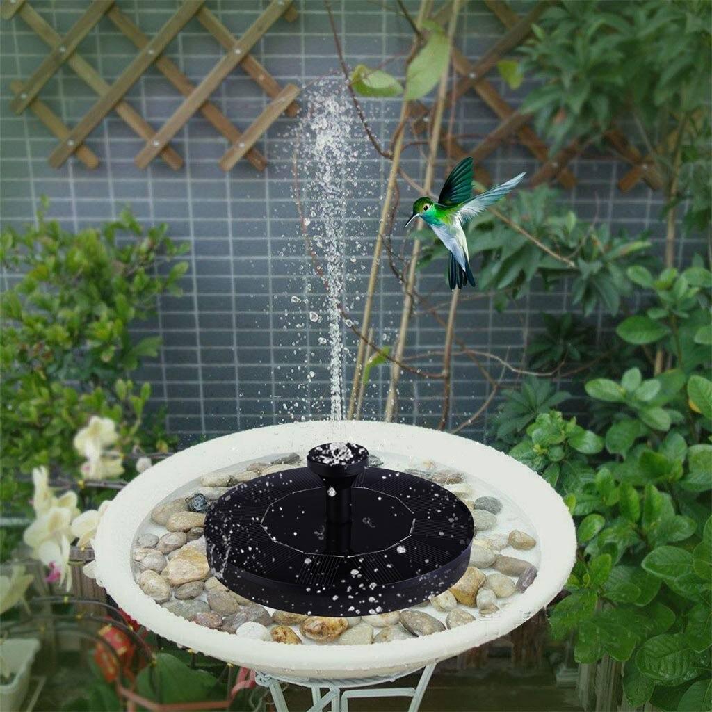 Minifuente de agua de energía Solar para jardín, piscina, estanque, 45cm, Panel...