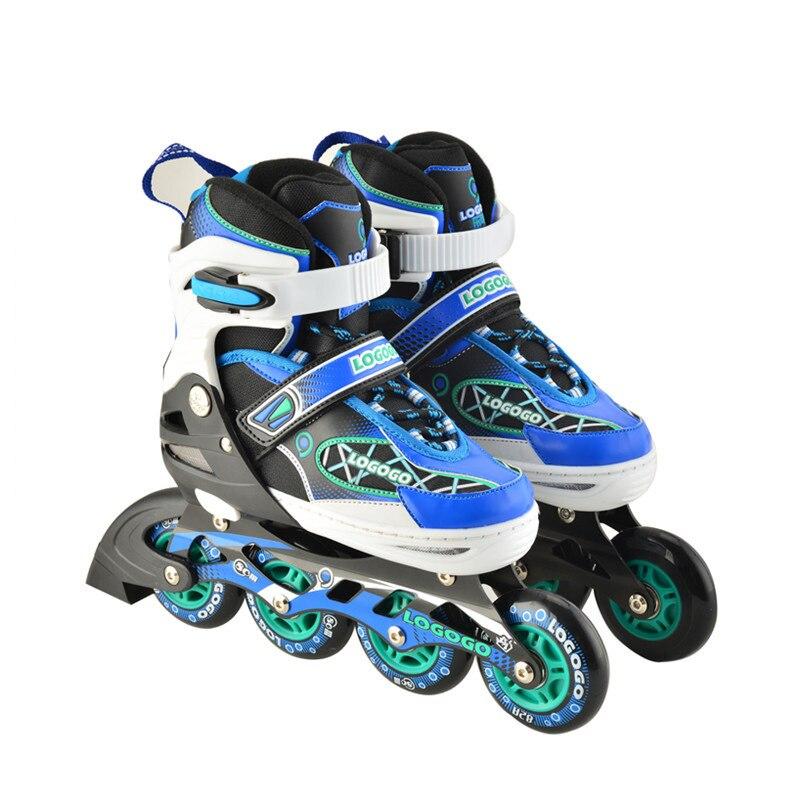 Профессиональные роликовые коньки, кроссовки, роликовые коньки, четырехколесные коньки, мигающие роликовые скейтеры, спортивное оборудова...