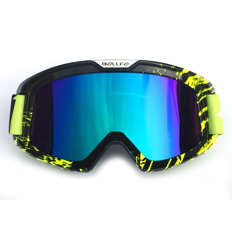Motorcycle riders equipped with cross-country goggles windbreak glasses helmet goggles ski goggles sand proof goggles enlarge