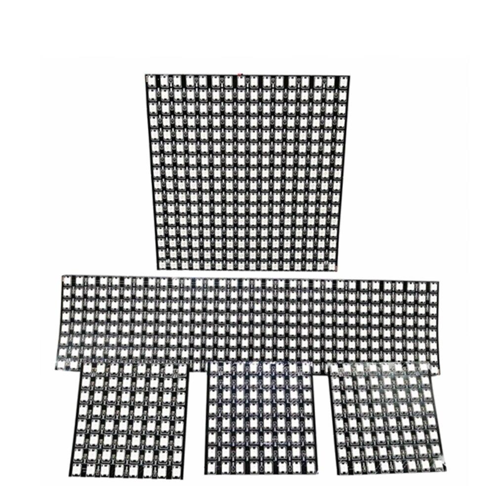 DC5V WS2812 Individually Addressable Module Matrix Screen WS2812B Digital Flexible LED Pixel Panel 8