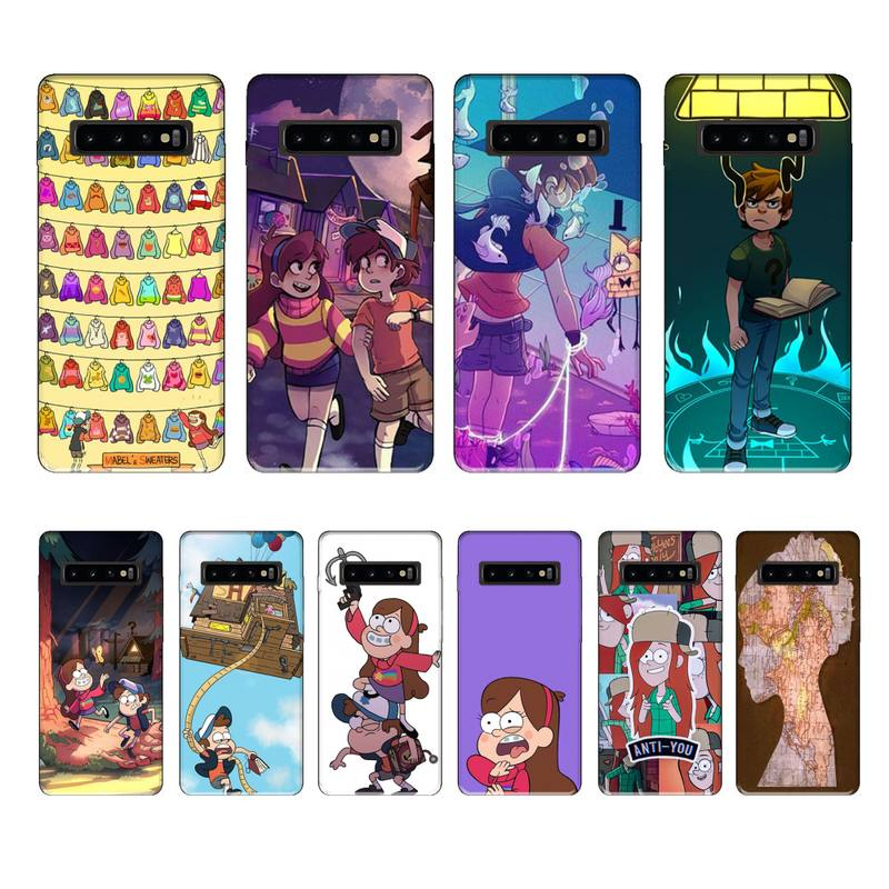 Tao Taoju Gravity Fall luxury brand case coque fundas for samsung galaxy S8 S9 S10e S20 PLUS J6 J600 cases cover