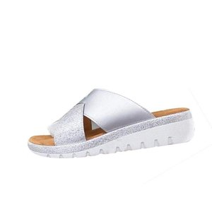 Summer New Ladies Casual Sandals Designer Women New Large Size Flat Bottom Set Toe Ladies Sandals High Quality Luxury Slippers