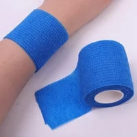 5450cm sport ankle protective bandage elastic non woven fabric pet self adhesive muscle sticker waterproof bandage tape