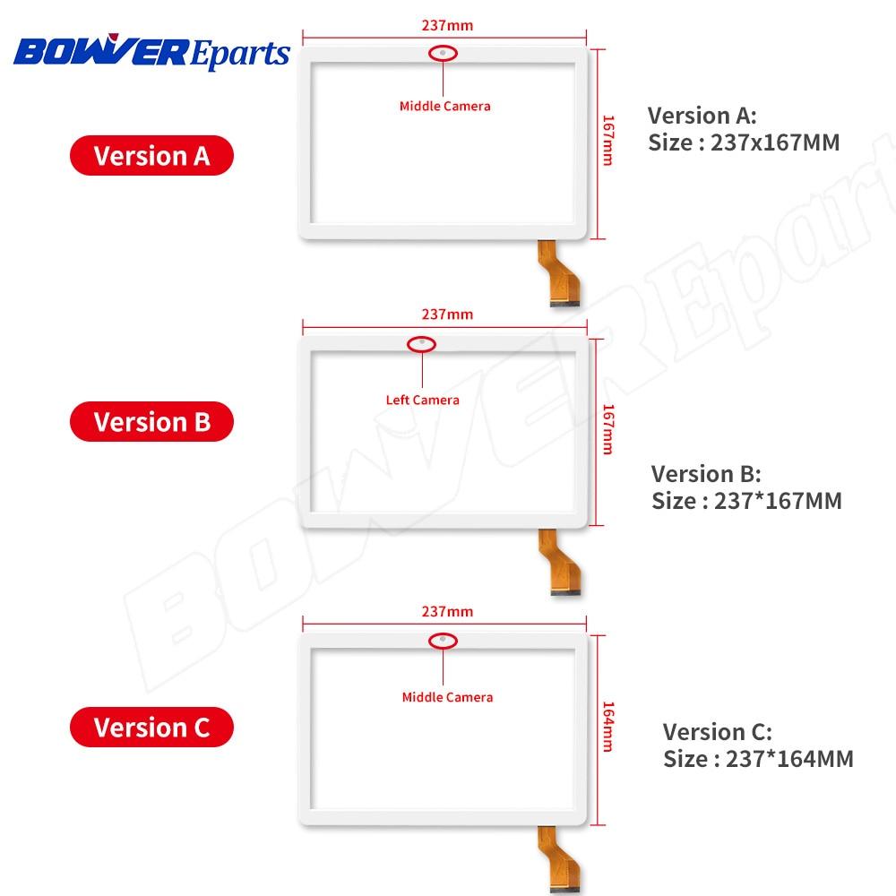 Sensor digitalizador de Panel de cristal táctil para tableta PC de 10,1 pulgadas Compatible con pantalla táctil GT10JTY131/V2.0/V1.0/V3.0/V4.0/5,0