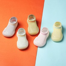 Yg brand children's shoes new spring and summer baby walking soft sole baby net shoes breathable non