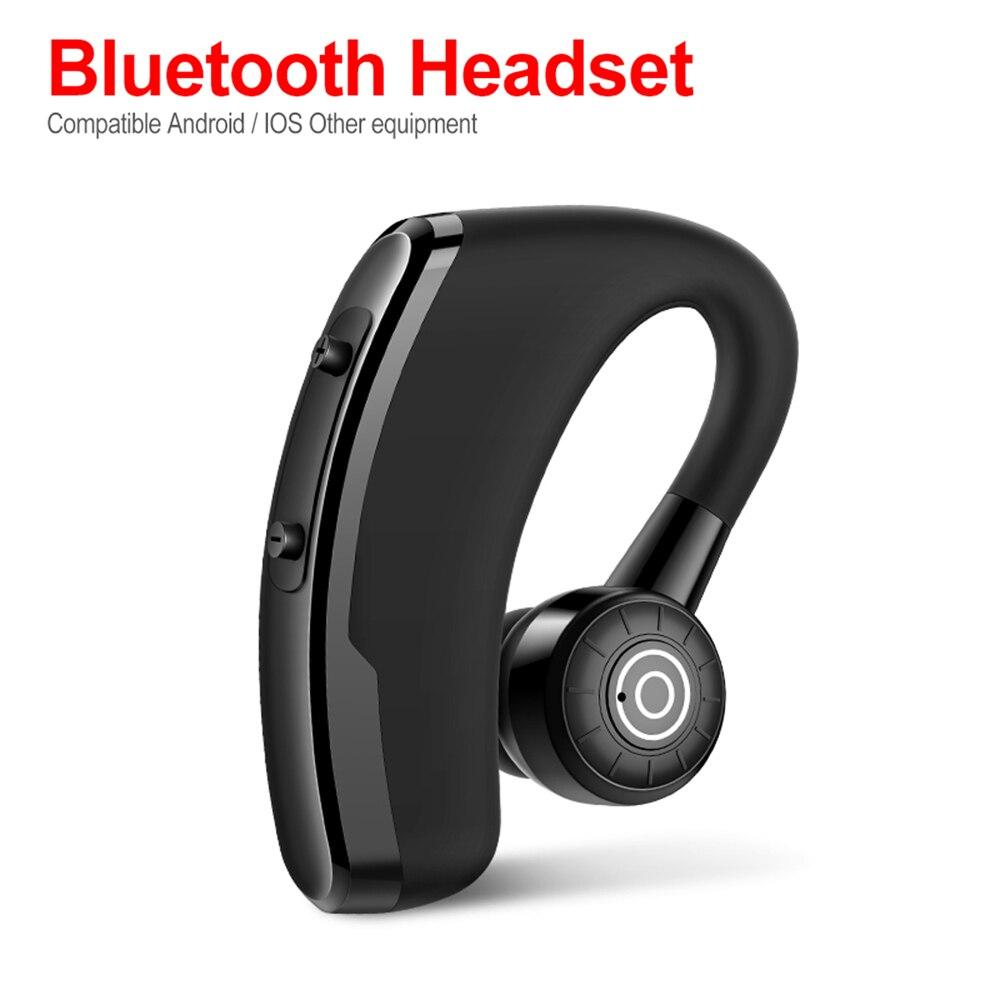 Auriculares inalámbricos Bluetooth V5.0 de negocios P11, auriculares manos libres, auriculares estéreo HiFi con micrófono HD para todos los teléfonos