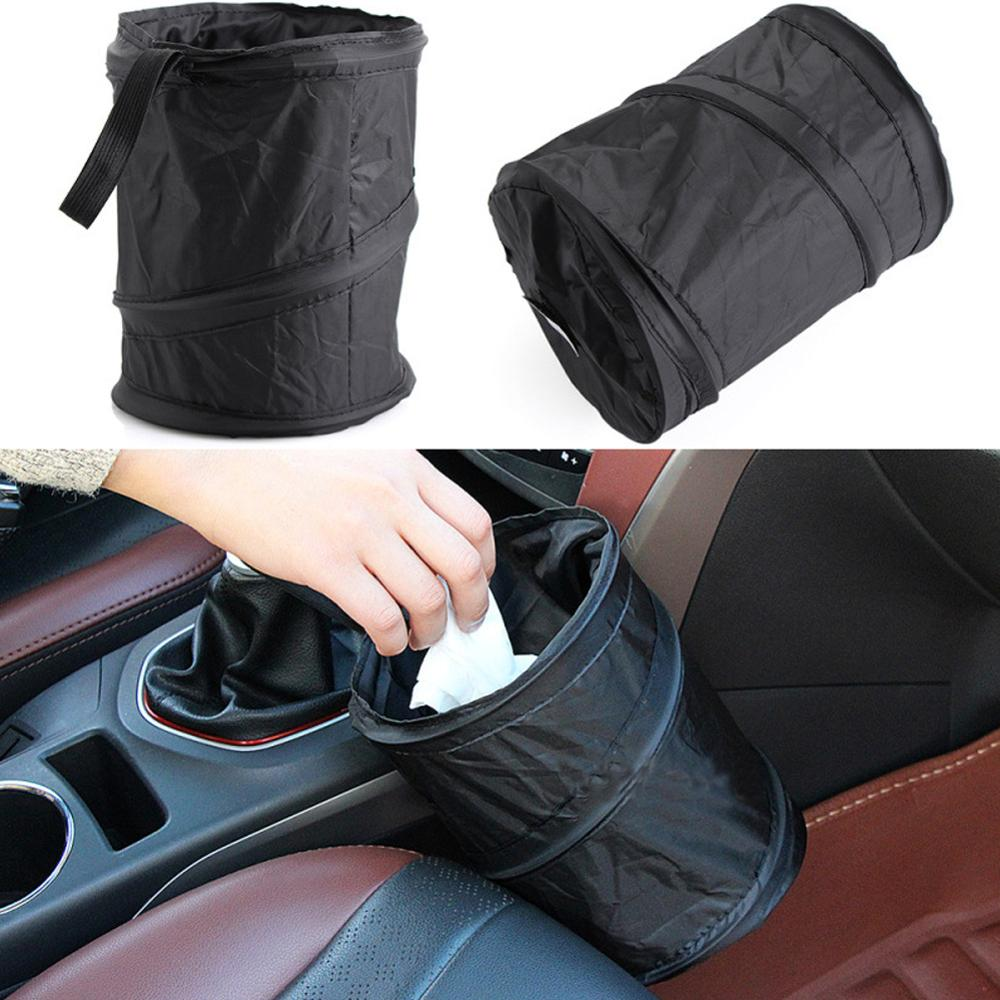 Basura de coche dispositivo coche bolsa de basura Multi-funcional bolsa peso ligero