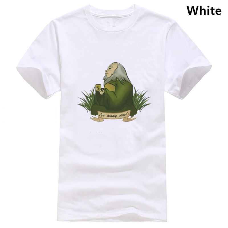 Irohs Delectable Tea Avatar The Last Airbender мужские футболки Legend Of Korra Aang футболки с коротким рукавом хлопковая футболка