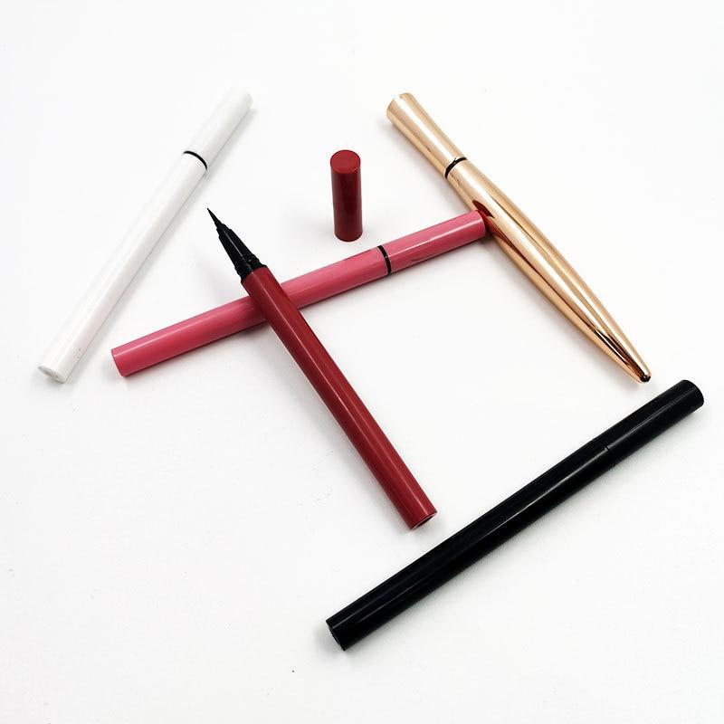 10pcs/pack Self Adhesive Lash Glue Liner Eyeliner Pen Waterproof Glue-free Magnetic-free For False Eyelash Eye Liner Pencil Tool