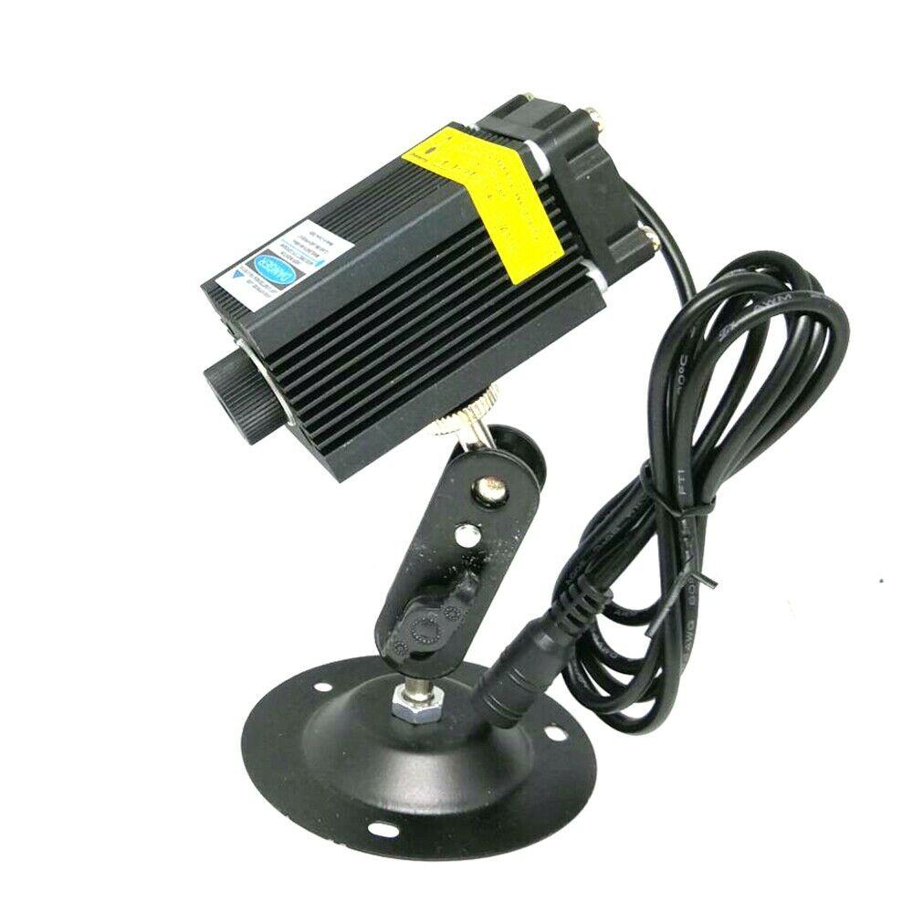 Фокусируемый мощный 450 нм 1,6 Вт синий лазер точка модуль 1600 мВт диоды 12 В питание локатор держатель гравировка лазеры
