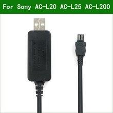 5V USB AC-L20 AC-L25 AC-L200 Power Adapter Charger Cabo de Alimentação Para Sony DCR-HC33 DCR-HC35 DCR-HC36 DCR-HC37 DCR-HC38 DCR-HC39