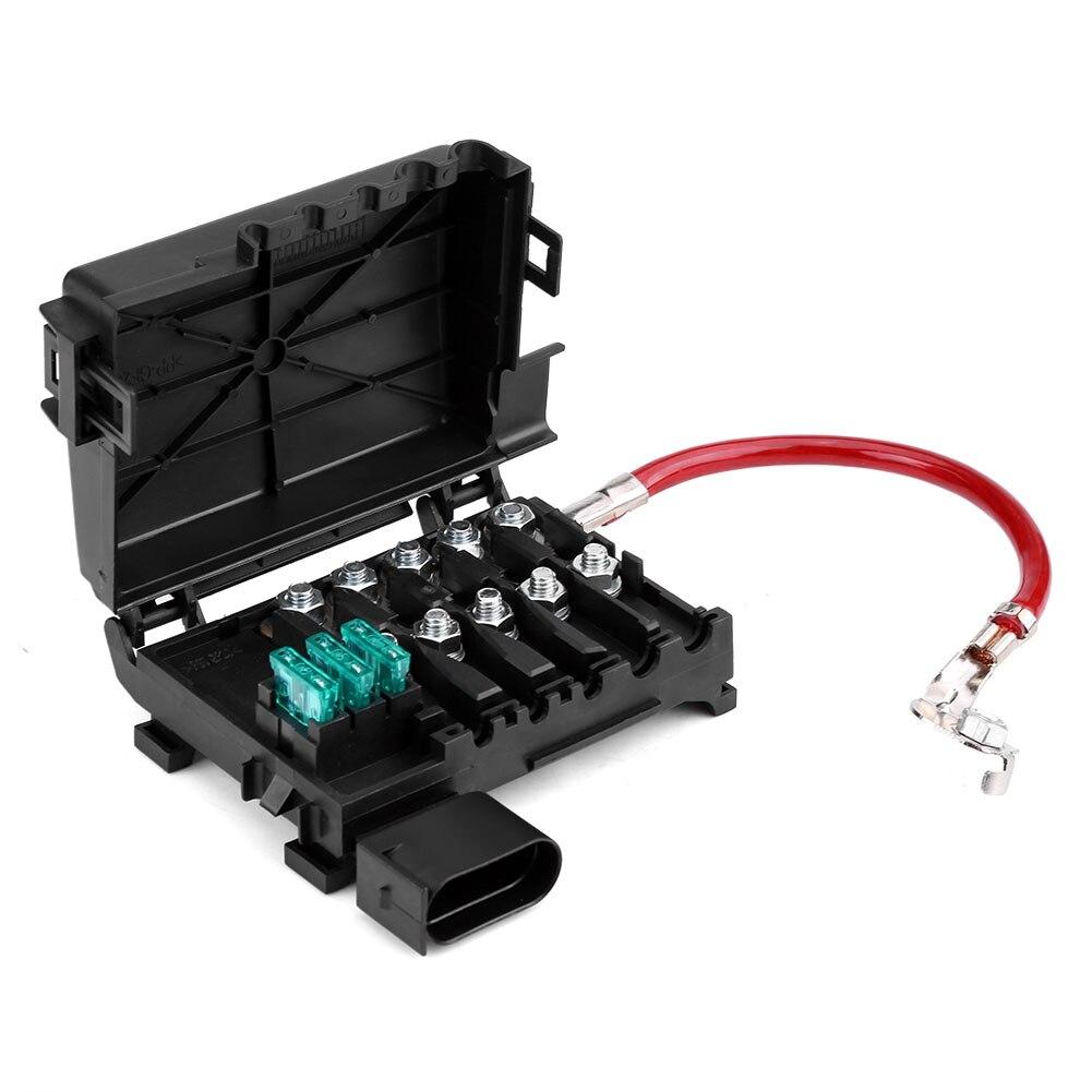 Car Battery Fuse Box Holder Terminal robust plastic housing for Jetta Golf Mk4 Beetle 1999-2004 1J0937550A 1J0937550B