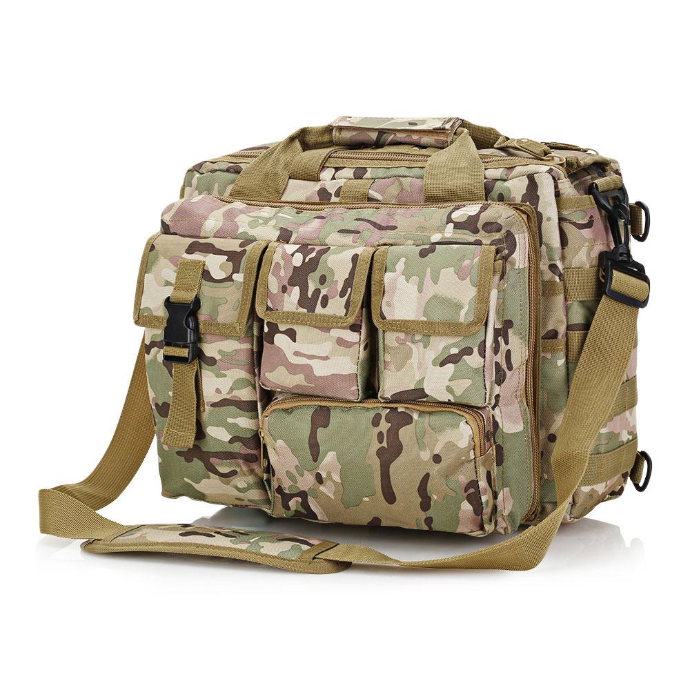 Военная Тактическая Сумка через плечо, сумка-мессенджер, сумка для ноутбука, портфель, уличная многофункциональная нейлоновая сумка для альпинизма, походов