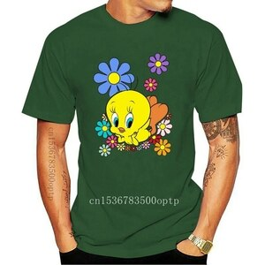 New Fashion Tweety Man's O-Neck Leisure T Shirt
