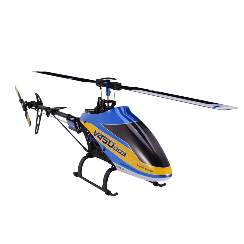 Walkera V450D03 6CH 3D Fly 6-Axis Stabilization System Single Blade Professional Remote Control  Hel