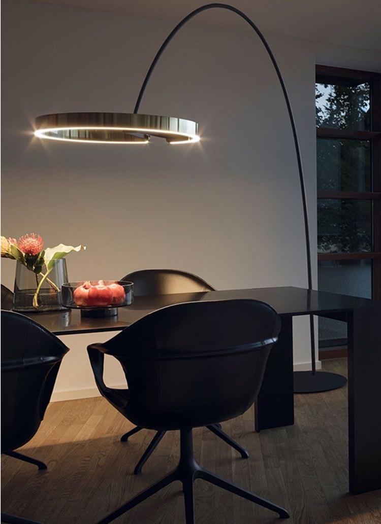 latest modern LED floor lamp newest floor light nordic light LED standing light living room indoor lighting