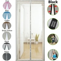 magnetic hands free screen door net screen anti mosquito fly insect mesh guard curtain magic bugs insect curtain