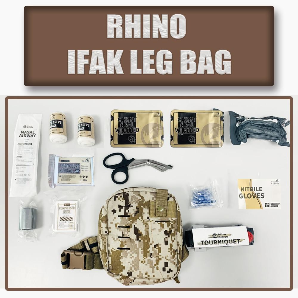 العسكرية في الهواء الطلق السفر حقيبة الساق IFAK/حزمة التكتيكية حقيبة إسعافات أولية طقم طبي EMT الطوارئ حقيبة الساق في الهواء الطلق الطبية ifak