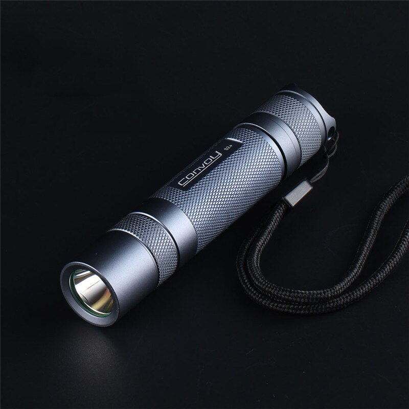 Convoy-linterna LED S2 + SST20 para Camping, linterna de emergencia para caza,...