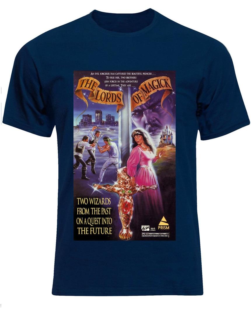 De agradecimiento a los fans de los señores de magia Bmovie 1989 Poster para hombre Camiseta Tee superior Af00 Harajukutee camisa