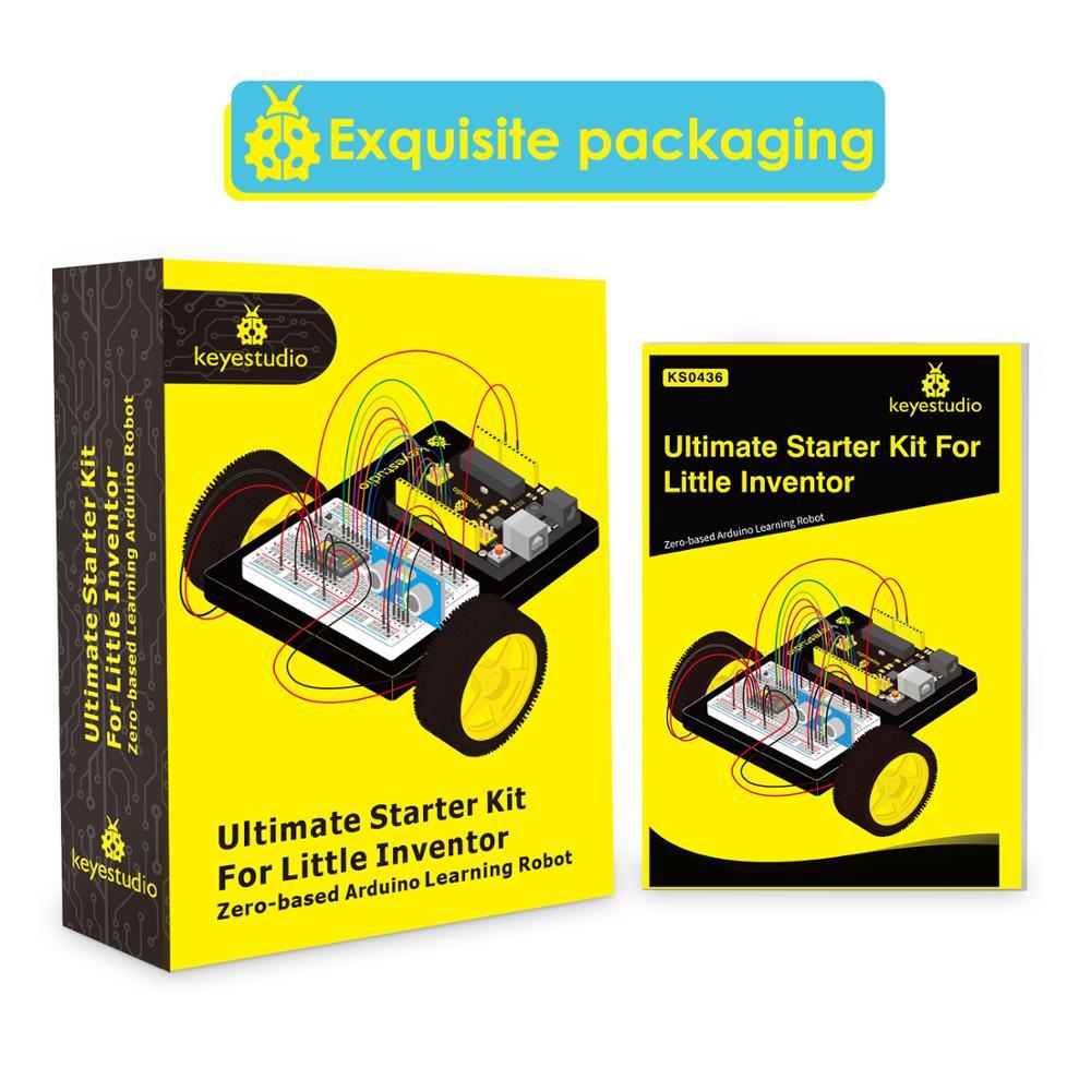 Keyestudio Ultimate Starter Kit/автомобильный набор