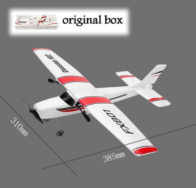 DIY RC Plane Toy EPP Craft Foam Electric Outdoor Remote Control Glider FX-801 901Remote Control Airplane DIY Fixed Wing Aircraft недорого