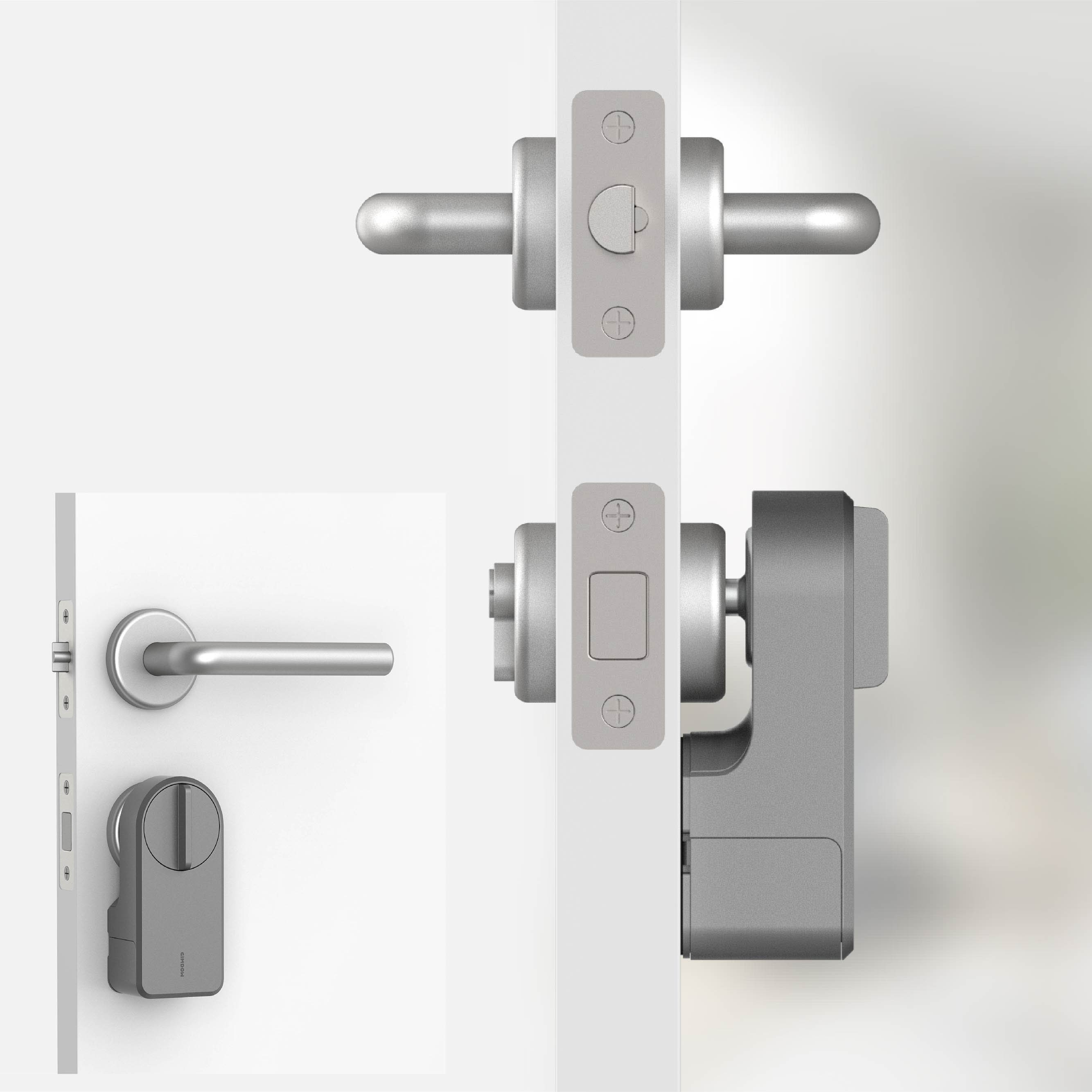 Get GIMDOW A3 Smart Door Electric Lock APP control buletooth Sticker lock safe electronic lock keylessentry door lock smart