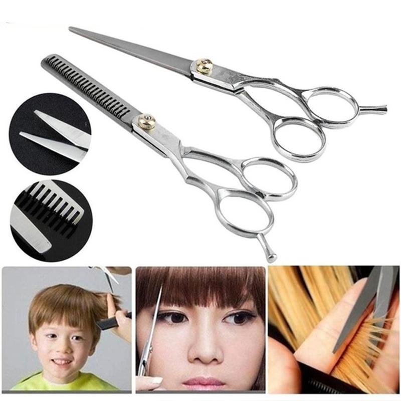 6 Inch Hair Scissors Cut Professional Hair Cutting Salon Scissor Makas Barber Thinning Shears Hairdressing Scissors
