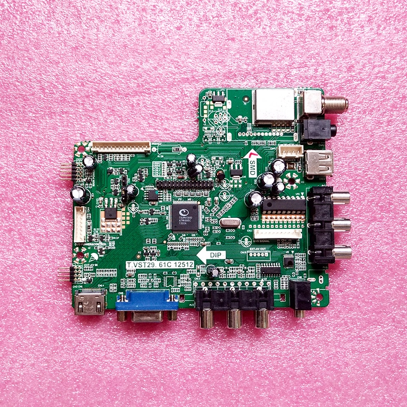 Новая материнская плата V59 TV Driver Board T.VST29.61C 12512