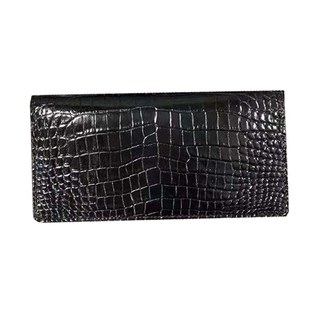 fanzunxing new men clutch bag men crocodile wallet male purse thailand crocodile skin