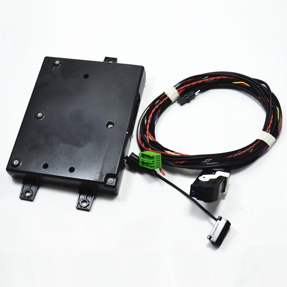 COSTLYSEED RNS510 RCD510 9W2 Bluetooth Module+Plug&Play Harness+Microphone For Passat B6 Golf MK6 Touran CC Eos