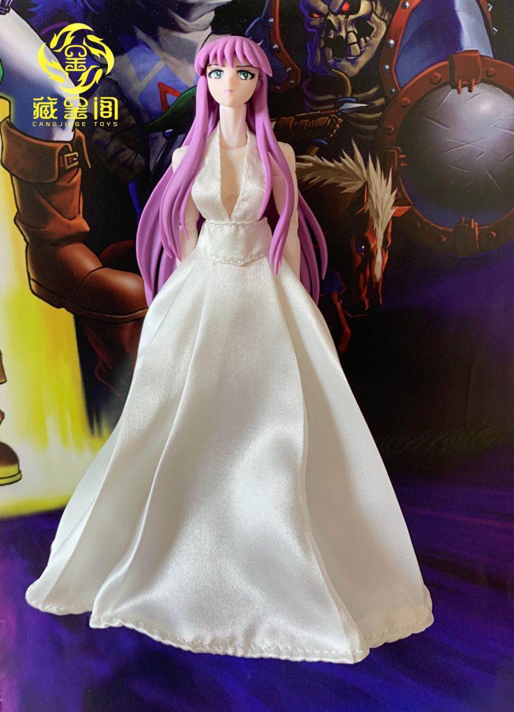 Saint Cloth Myth Athena, vestido Saint Cloth, disfraz de noche para modelo de acción de 6 pulgadas, accesorio de figura de acción, 1/12