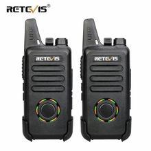RETEVIS RT22S Freisprechen Walkie-talkie 2 stücke RT22 Upgrade VOX Versteckte Display Zwei-weg Radio Transceiver Walkie-talkies reise/Camp