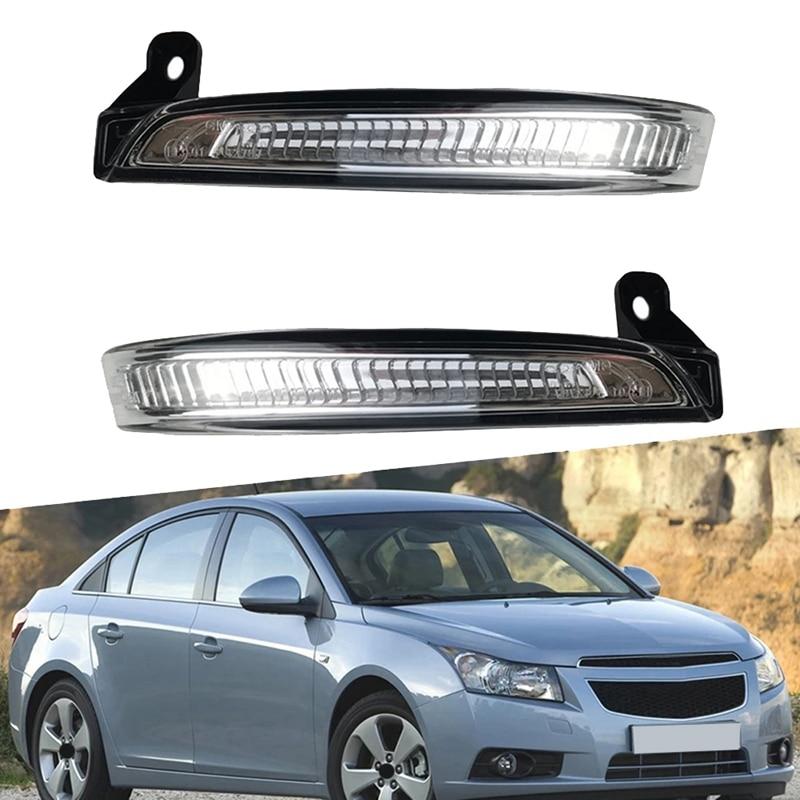 سيارة LED مرآة الرؤية الخلفية ضوء بدوره مصباح إشارة لشروليه كروز J300 2009 - 2015 94537661 94537660