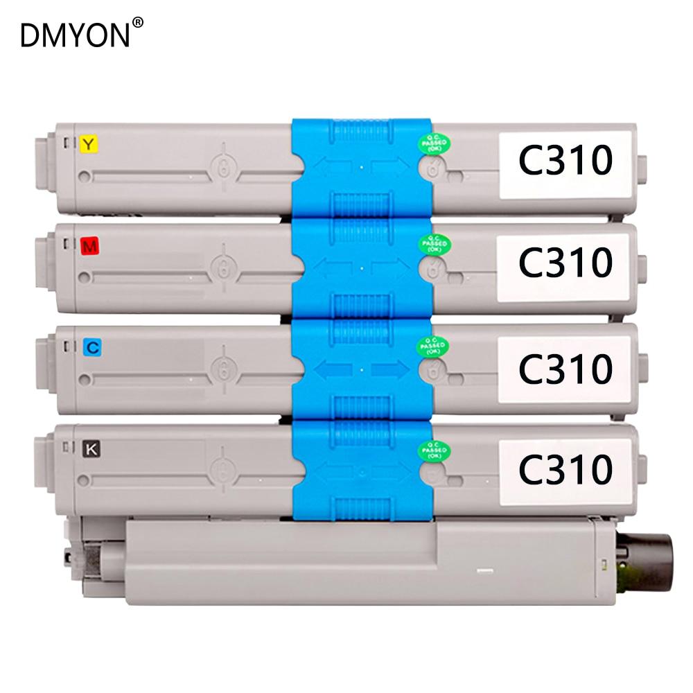 DMYON الحبر خرطوشة متوافقة لأوكي 310 ل C310dn C330dn C510dn C530dn C511dn C531dn MC351dn MC361dn MC352dn MC561 طابعة