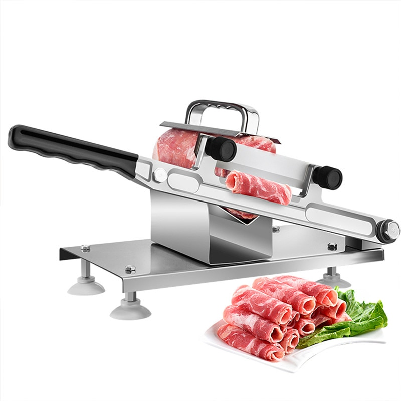 Cortador de carne para casa rolo de cordeiro rolo de carne congelada legumes slicer