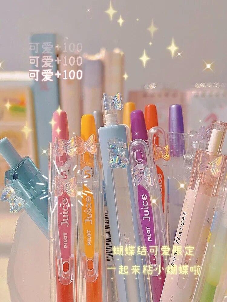Японская искусственная Sakura Limited 0,5 мм, DIY декоративная ручка, школьные принадлежности, цветная нейтральная ручка, принадлежности для дневник...