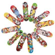 1 pçs fingerboard mini dedo skate plástico dedo skate trotinette reminiscência original meninos mini skate brinquedo