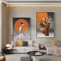 chinese style classical art poster elegant lady dancing modern canvas painting and printmaking home decoration for girls bedroom