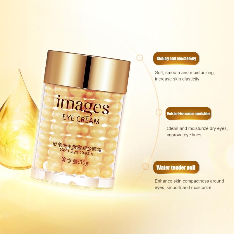 Купить с кэшбэком Gold Eye Cream Remove Anti Wrinkles Collagen Hydra Moisturizing Eye Gel Remove Eye Bag Anti Puffiness Dark Circles Eye Care